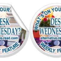 What's on your desk, Wednesday? #AuthorSpotlight Apple Gidley @expatapple #Fireburn