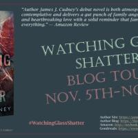 What's on your desk, Wednesday? #AuthorSpotlight James Cudney @jamescudney4 #WatchingGlassShatter