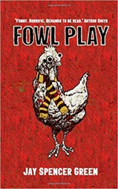 A crazy social satire of hitmen, hoydens, and headless (human) chickens.
