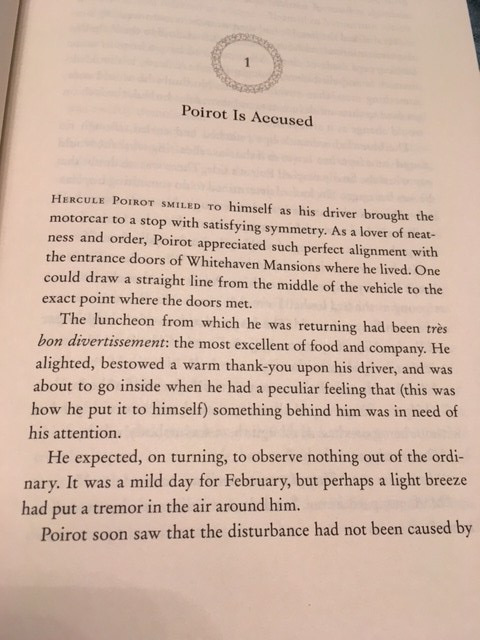 Teaser - Agatha Christie The Mystery of Three Quarters by Hannah Sophie | Alternative-Read.com